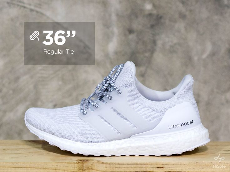 """36"""" for those that like to tie their laces . . Tips for boosting your Ultraboost #shoes #sneakers #adidas #ultraboost #laceswap #fashion // See more on our page : www.facebook.com/hisolethailand"""