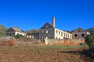 The old Sugar Factory, Nerja