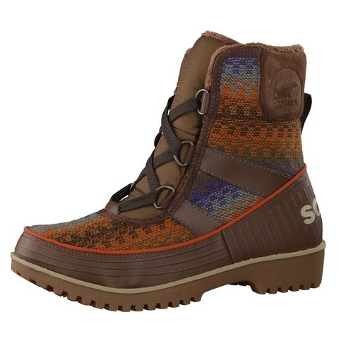 #SOREL #Damen #Winterstiefel #Tivoli #II #NL2091-256 #braun Der Winterstiefel Tivoli II von Sorel hält nicht nur angenehm warm, sondern sieht auch noch toll aus. - Fleece-Futter - 100g-Isolierung - Herausnehmbares, geformtes Fußbett - Oberbezug aus Microfleece - Gummi-Zwischensohle Absatzart: Block Decksohle/Innensohle: EVA Futter/Wattierung: voll gefüttert Look/Optik: casual Passform: fällt normal aus Schuhe Funktion: atmungsaktiv, wasserdicht Schuhe Verschluss: Schnürung Schuhspitze…
