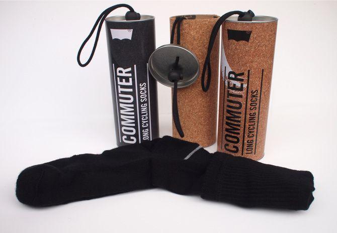 Levi's commuter cycling socks packaging - RVM