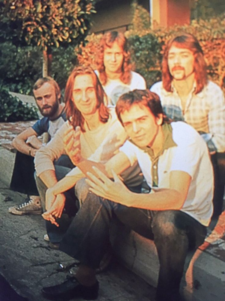 Genesis My favorite picture of the band.