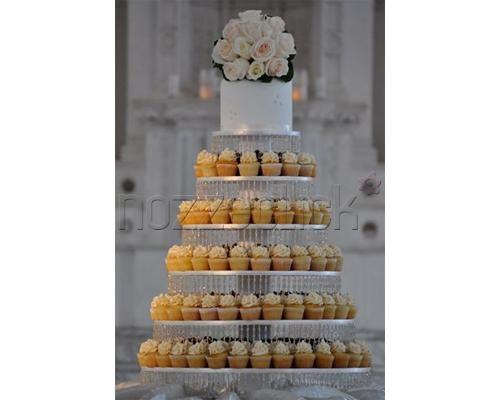 UNA TORRE DI CUPCAKES a Torte Artistiche di Irene Gabellone  #nozze #torta #matrimonio