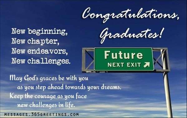 Graduate Congratulations Messages | graduation card messages graduation messages from parents words of ...