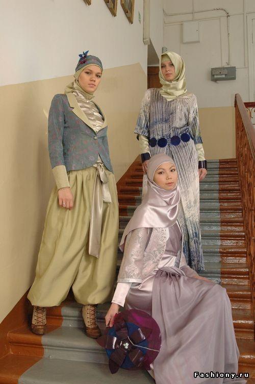 Мусульманская мода с улиц Казани / мусульманская одежда в казани