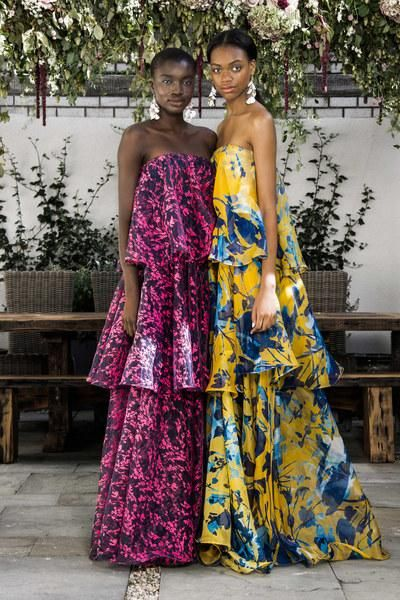 Floral evening options to mix and match at Sachin & Babi's Spring 2016 collection