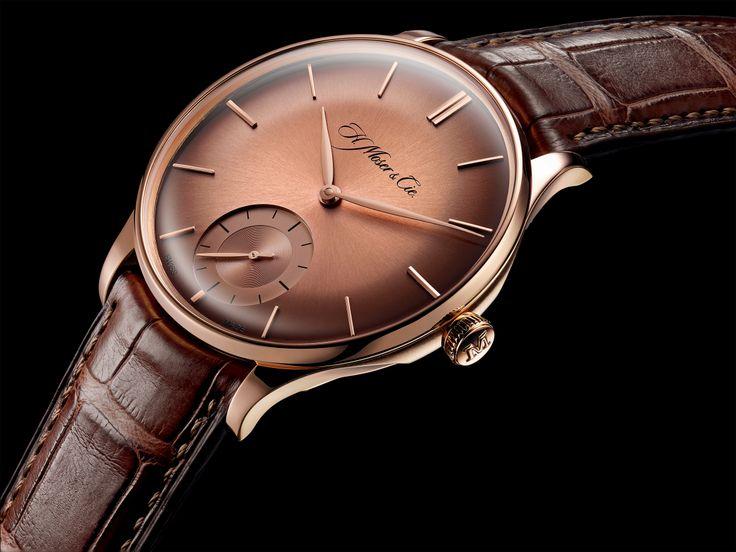 Venturer Small Seconds (red gold fumé dial) http://www.orologi.com/news/venturer-la-nuova-collezione-di-h-moser-cie-