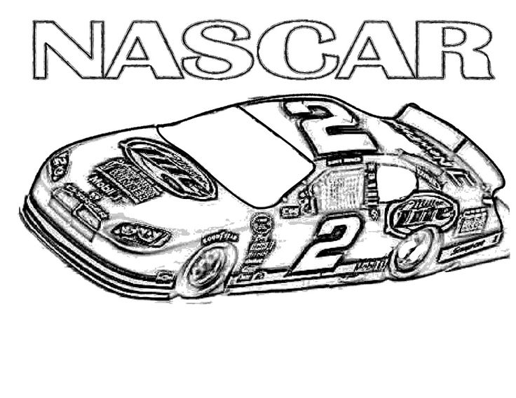 Nascar Coloring Pages K5 Worksheets Race car coloring