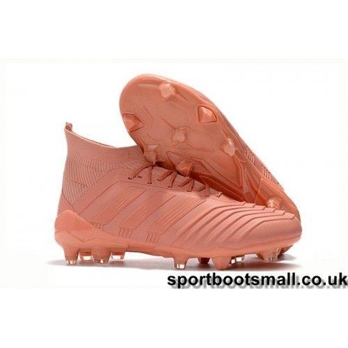 dc860eac Vintage Adidas Kids Predator 18.1 FG Football Boots - Pink visit us:http:/