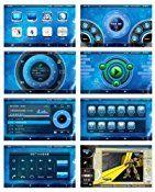 BlueLotus® for Toyota Highlander 2008 2009 2010 2011 2012 / Toyota Highlander Hybrid 2008-2012 / Toyota Kluger 2008-2012 In-dash 8″ Touchscreen DVD GPS Navigation Tv Radio Bluetooth RDS Sd/usb Ipod Av + Reverse Car Rear Camara + Free USA Map