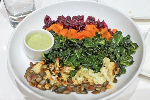 Chopped salad at The Camlin in Williamsburg