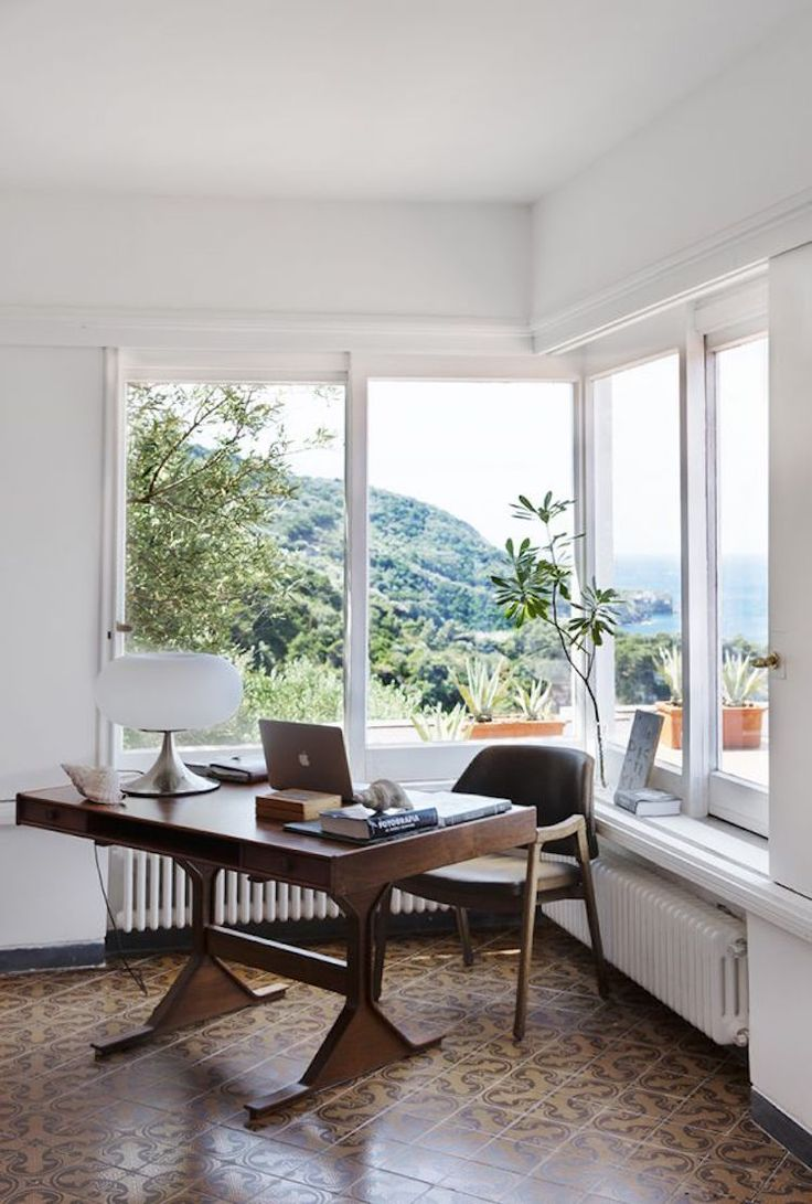 How about this corner office on the Sorrento Coast?
