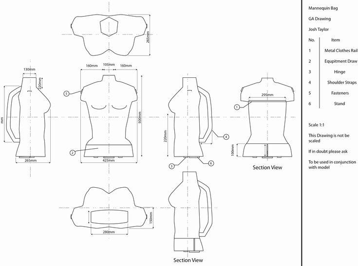 Fashion Design Mannequin Template