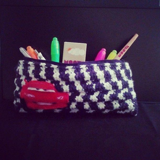 Knit Bag, Crochet Bag, Örgü Makyaj Çantası - Asmalı Tasarım