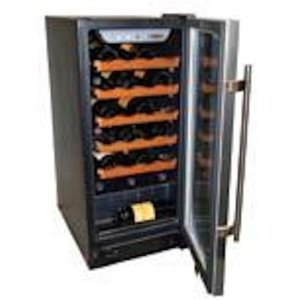 Haier HVCE15BBH Built-In or Freestanding 26-Bottle Wine Cellar (Kitchen)
