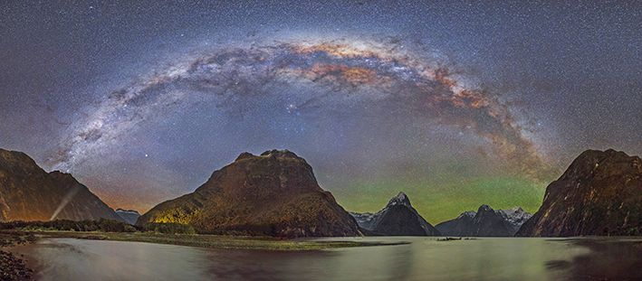 A very unique look at Milford Sound - starscape photography by Rob Dickinson. www.imagevault.co.nz
