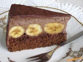 Lahodná torta s banánmi a parížskou šľahačkou - možno ju poznáte aj pod názvom Kuba rezy....
