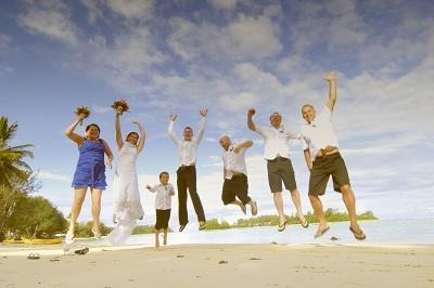 Muri Beach, Rarotonga wedding