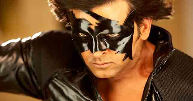 Hrithik used wax mask in krrish 3