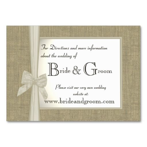 Best Wedding Theme Business Cards Images On