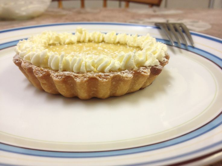 Mini Lemon Tart - recipe from The Great British Bake Off: How to Bake (adapted for mini tarts)