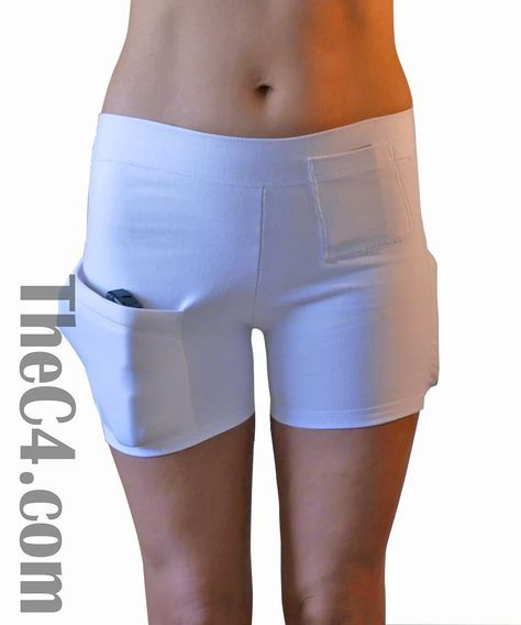 Holster Shorts for Women - C4- The Concealed Carry Clothing Company
