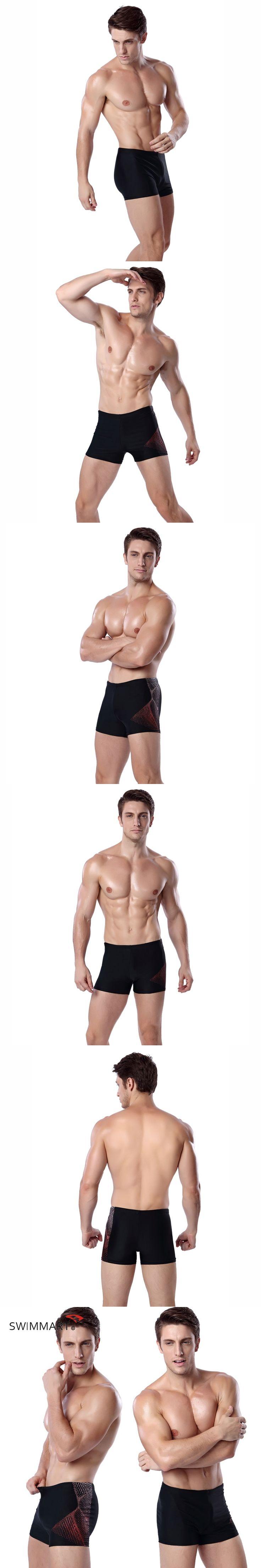 SWIMMART  Men's Man Swimwear Swimsuits Swimming Shorts Sports Suits Surf Shorts Sexy Trunks Men Swim Suits Summer MS013