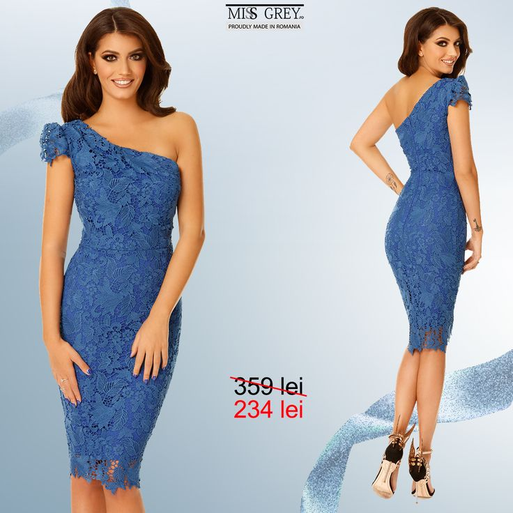 Dare to be glamorous at the next special event wearing a lace dress in a vibrant blue shade. Enjoy the discounted price for the Sofia blue dress and take advantage of the last days of  the Black Friday campaign! Link in bio!