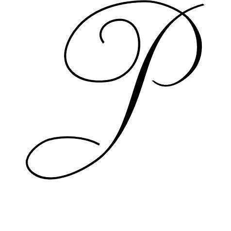 Latin Capital Letter P Stylistic Set 3