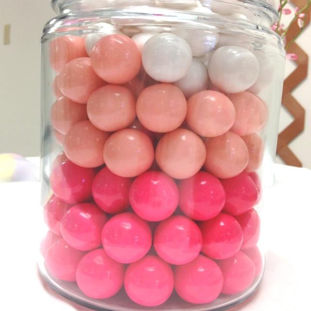 bridal shower bubble gum game