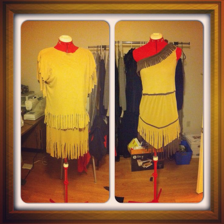 Pocahontas re-creation, for Halloween!