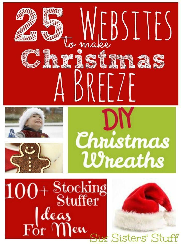 Christmas cookie ideas-yum!