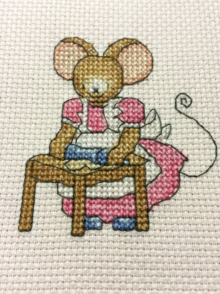 Furry Tales Baking Mouse The World of Cross Stitching Issue 225 February 2015 Saved