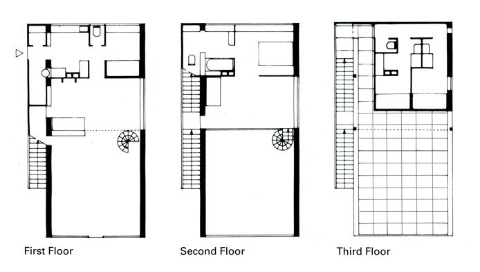 20 best images about prototipos de vivienda inmueble for Prix architecte plan maison