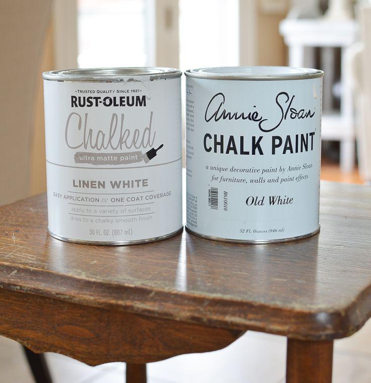 The 25 best rustoleum chalk paint colours ideas on for Chalk paint comparable to annie sloan
