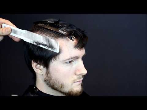 How to cut mens hair short back and sides with clipper over comb Full Tutorial. - YouTube