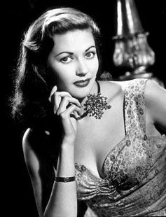 Yvonne DeCarlo (remember her as Lily Munster?)