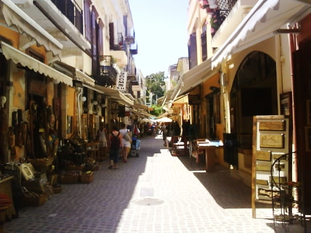Walking the streets - Crete