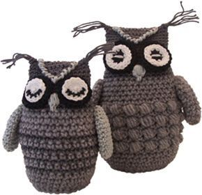 Ubie de Uil. Free pattern in Dutch