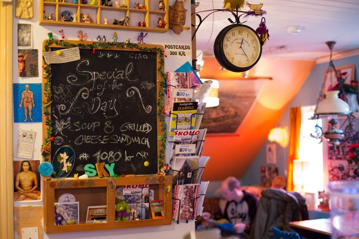 Cafe Babalú is a quirky and cool cafe in Skólavörðustígur with character in abundance. It's also one of my favorites. (in Reykjavik)