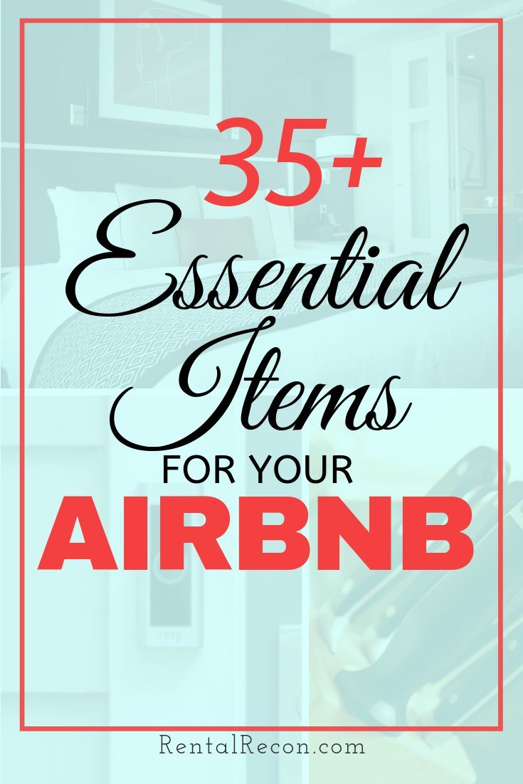 75 Crucial Airbnb Essentials Supplies Products For Hosts