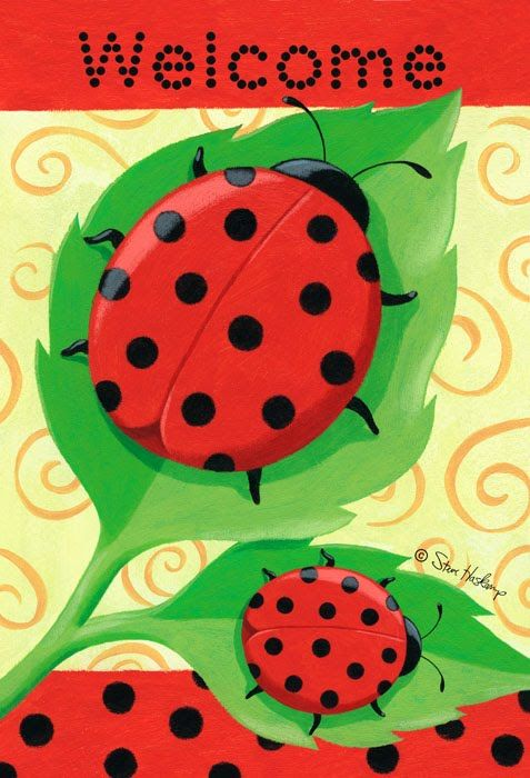 ladybugs | everyone likes ladybugs they just seem to make us smile this ladybug ...