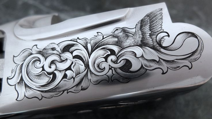 learn how to engrave guns
