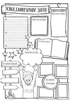 Schuljahresende 🎉👩🏼🦰👦🏻🧒🏼🧑🏽 – Sketchnotes – Unterrichtsmaterial in den Fächern DaZ/DaF & Deutsch & Englisch & Fachübergreifendes & Französisch