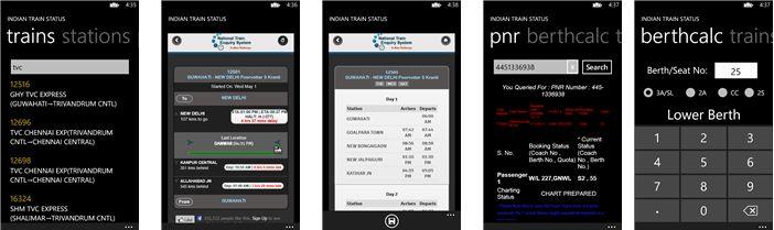 Train Status for Indian Railways