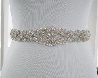 Bridal Sash Belt Bridal Belt Sash Belt Wedding by WestaireBridal