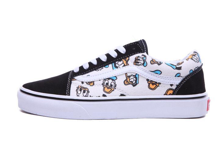 2015 VANS Old Skool Donald Duck Low SHOES [VN-OVOKC70 V555] - $64.95 : cheap vans shoes for men, buy vans skate shoes women online sale