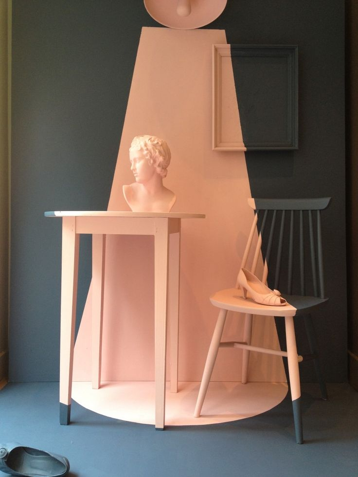 Farrow and Ball paint colours. Nancy's Blushes #278 and Stiffkey #281. http://www.creativeboysclub.com/wall/creative
