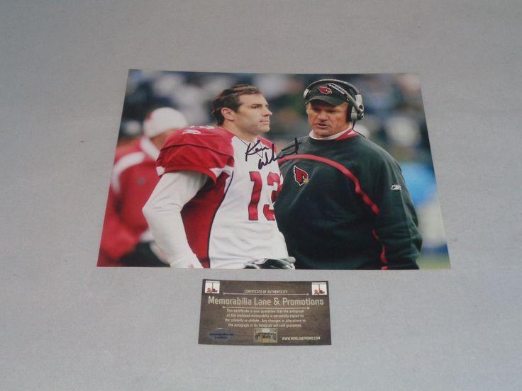 Ken Whisenhunt CARDINALS autograph 8x10 COA Memorabilia Lane & Promotions