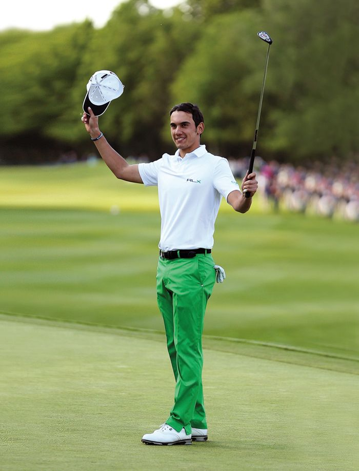 Ralph Lauren congratulates RLX Golf pro Matteo Manassero, who this Sunday became the youngest winner in the 58-year history of the BMW PGA Championship