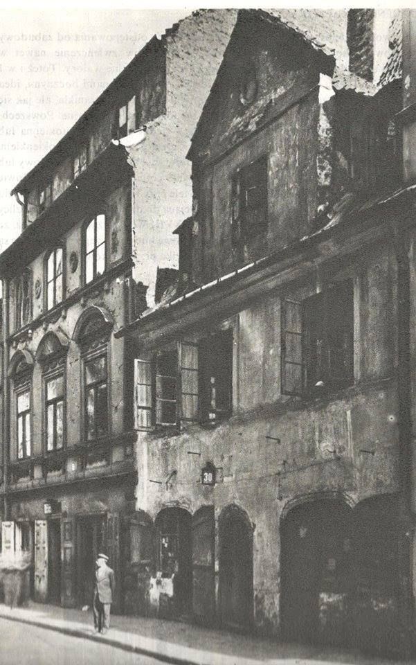 Ulica Freta.Zdjęcie sprzed roku 1939.